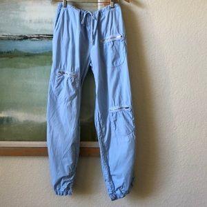 XCVI Pants Tie-String Adjustable Bottoms Large